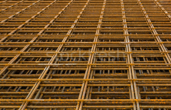 Wire Mesh Reinforcement Stock photo © rghenry