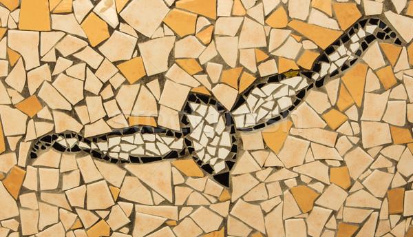 Ceramic Bird Texture Stock photo © rghenry