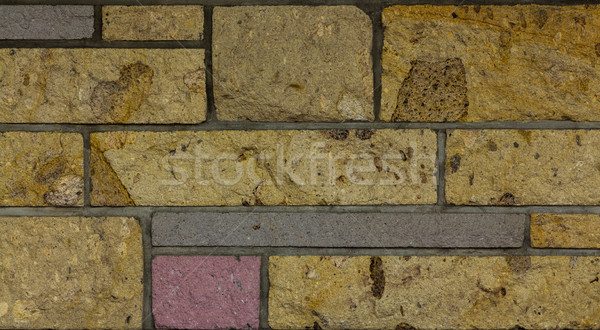 Muur muur textuur verschillend maat Stockfoto © rghenry