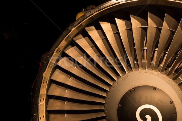 Jet Engine Intake Stock photo © rghenry