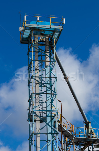Grain Pumping Tower Stock photo © rghenry