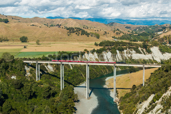 Rangitikei River Trestle Bridge Stock photo © rghenry