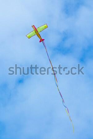 Flying Plane Kite Stock photo © rghenry
