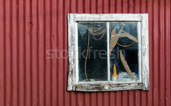 Old Broken Window Stock photo © rghenry
