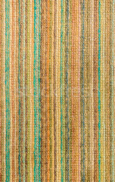 Puntada colores textura raya alfombra Foto stock © rghenry