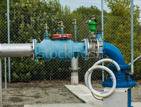 воды трубы контроль клапан основной Сток-фото © rghenry
