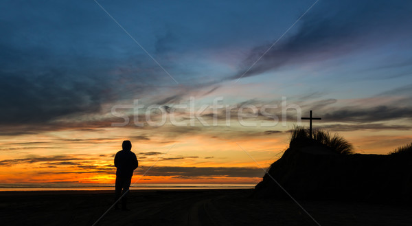 Look Towards The Cross Stock photo © rghenry