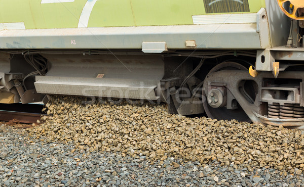 Gravel Track Layer Stock photo © rghenry