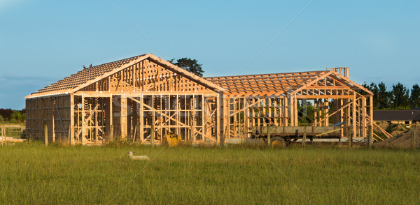 House Wooden Framing Stock photo © rghenry