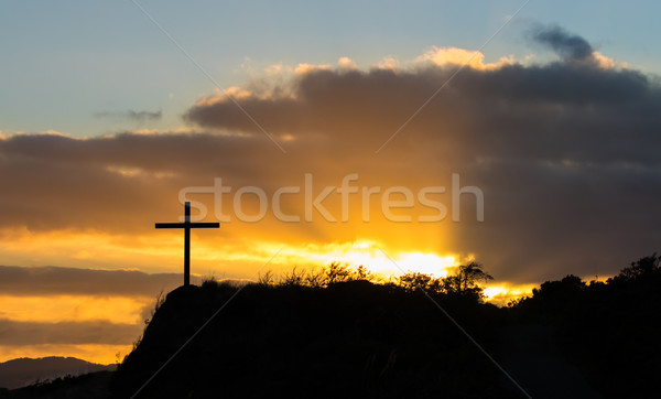 прорыв свет солнце серый Сток-фото © rghenry