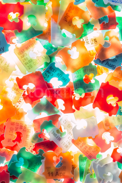 Plastic Best Date Tags Stock photo © rghenry