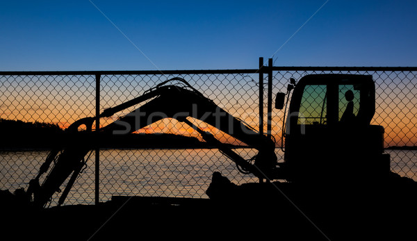 Resting Digger Stock photo © rghenry