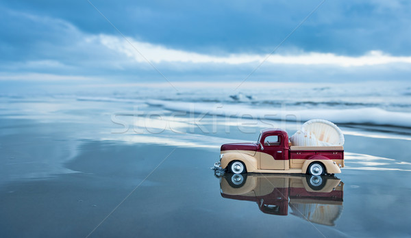 Beach Shell Truck Stock photo © rghenry