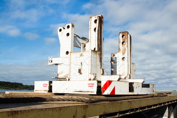 Crane Counterweight Base Stock photo © rghenry