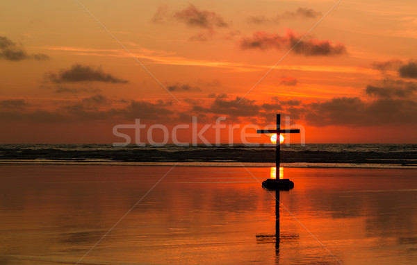 Darkness of the Cross Stock photo © rghenry
