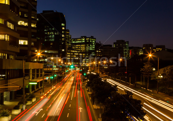 Wellington City Lights Stock photo © rghenry