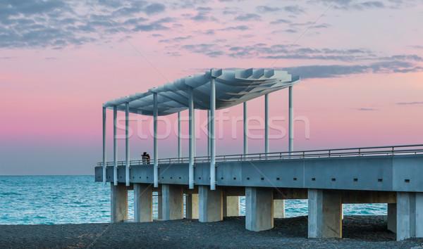 Napier Viewing Platform Stock photo © rghenry