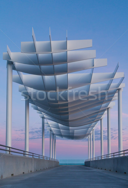 Platform Roof Stock photo © rghenry