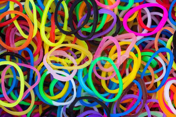 Rubber Loop Rings Stock photo © rghenry