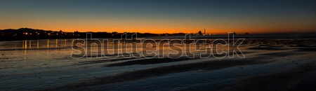 New Plymouth Night Bay Stock photo © rghenry