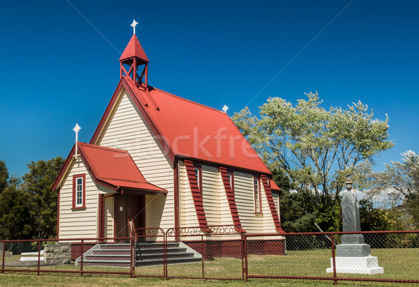 Small Town Church Stock photo © rghenry