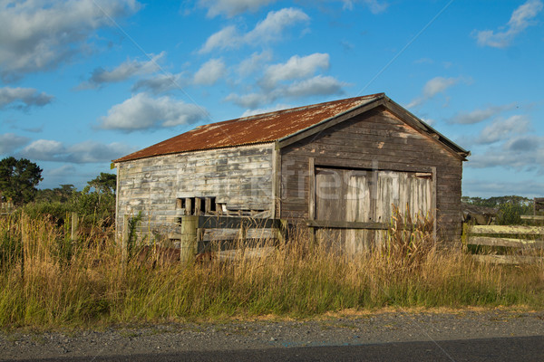 Old Farm Shed Stock photo © rghenry