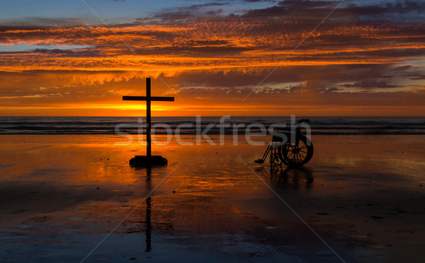 Cross To Heal Stock photo © rghenry