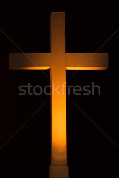 Lighten Cross Stock photo © rghenry