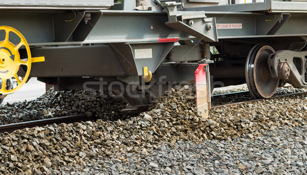 Track Gravel Plough Stock photo © rghenry