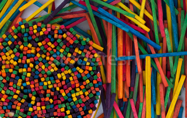 Color Sticks Stock photo © rghenry