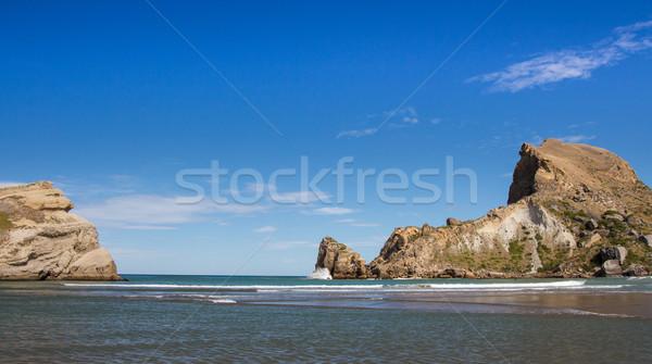 Castlepoint sea enterance Stock photo © rghenry