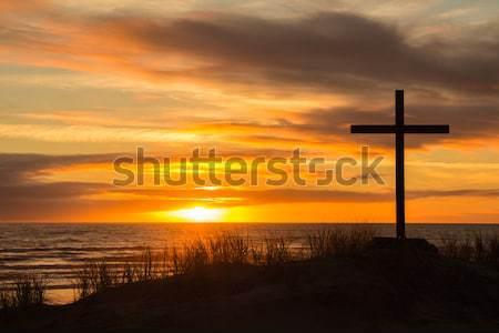 Sunrays Cross Stock photo © rghenry