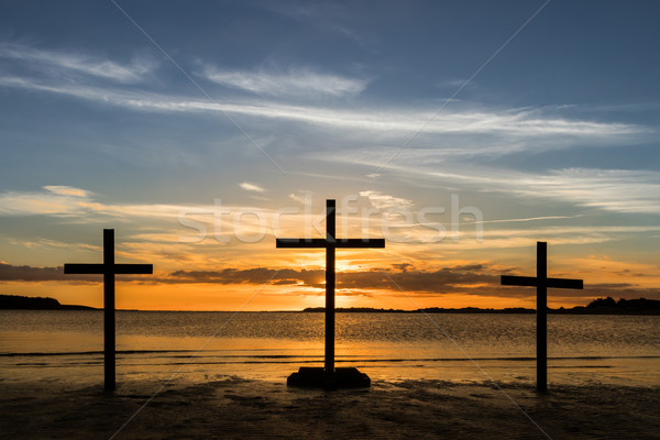 Easter Sundown Stock photo © rghenry