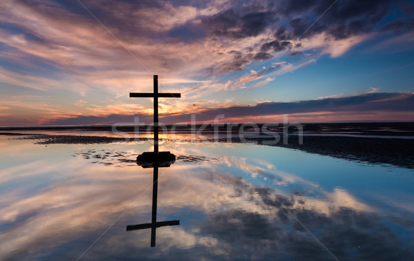 Low Sun Cross Waters Stock photo © rghenry