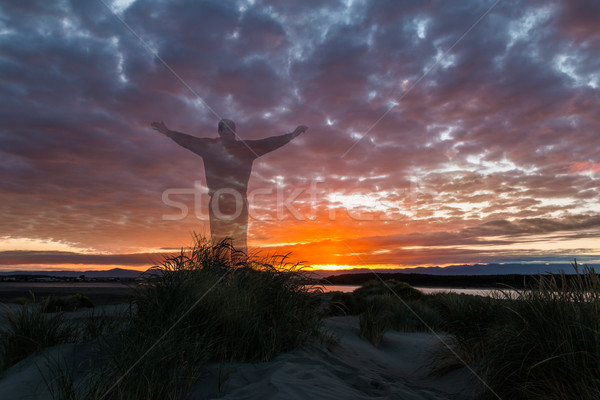 Sunrise Worship Stock photo © rghenry