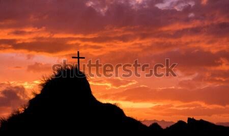 Man In Prayer Stock photo © rghenry