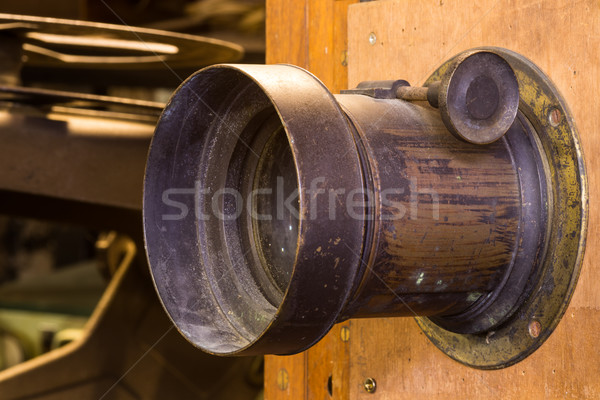 Old Camrea Lens Stock photo © rghenry