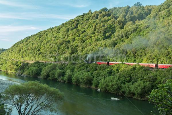 Manawatu Gorge Steam Train Stock photo © rghenry
