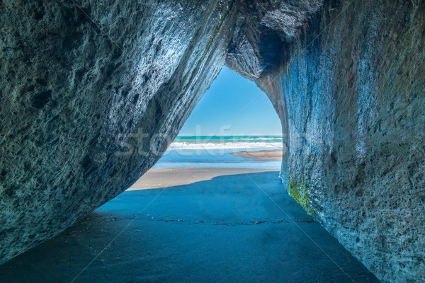 Beach Cave Stock photo © rghenry