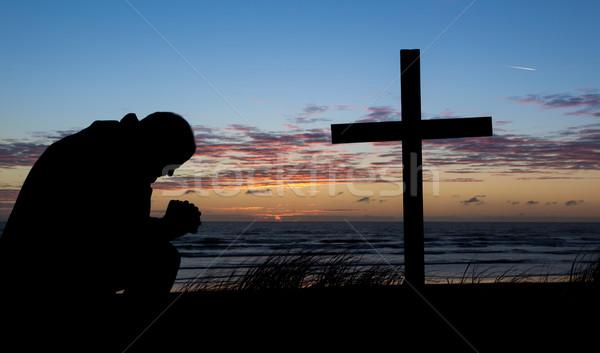Man Of Prayer Stock photo © rghenry