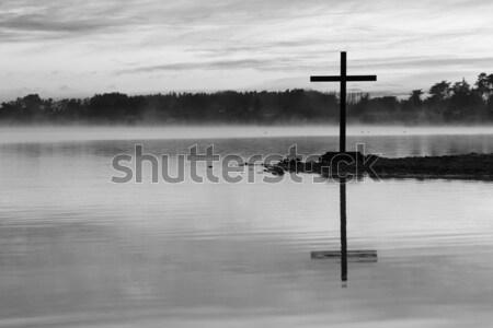 White Cross Pond Stock photo © rghenry