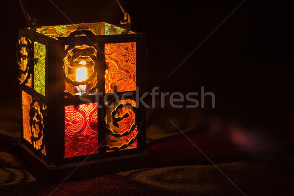 Candle Lantern Light Stock photo © rghenry