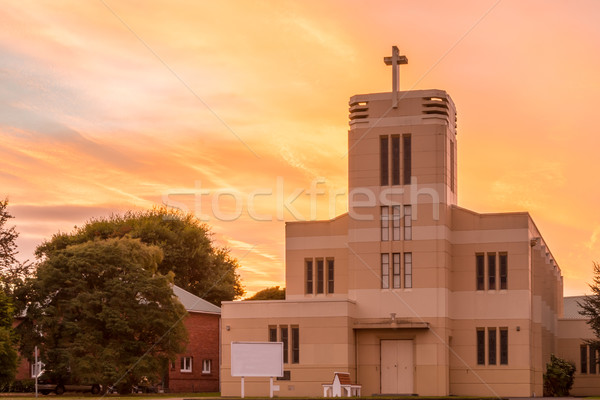 Levin Anglican Church Stock photo © rghenry