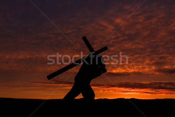 Carry Your Cross Stock photo © rghenry