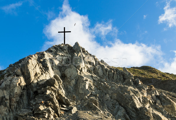 рок холме крест один черный Top Сток-фото © rghenry