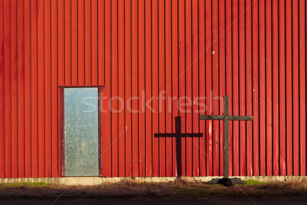 Cross Doorway Stock photo © rghenry