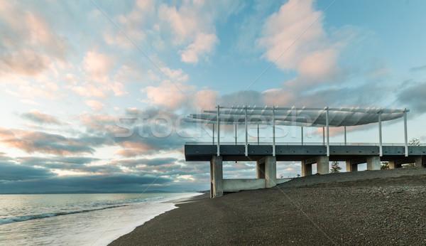 Beach Viewing Platform Stock photo © rghenry