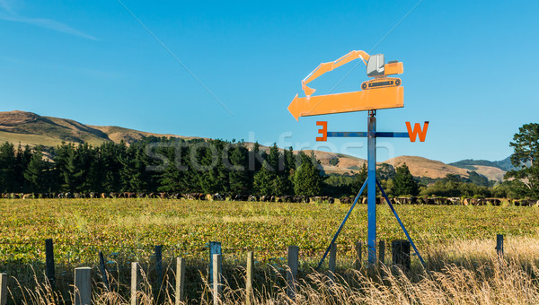 Wind Direction Sign Stock photo © rghenry