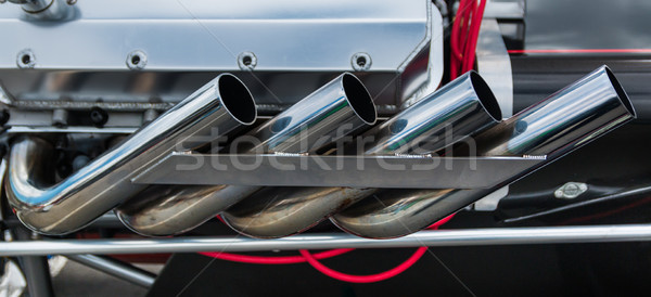 Dragster Exhaust System Stock photo © rghenry