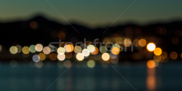 Blurred City Lights Stock photo © rghenry